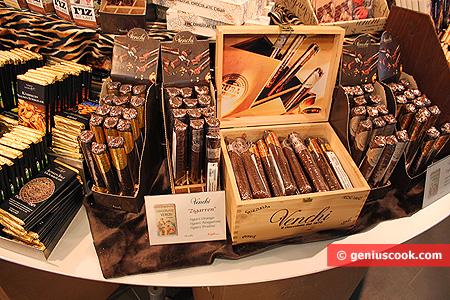 Шоколадные сигары