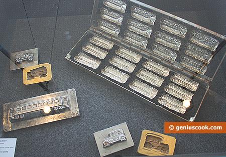 Формы для отливки фигурного шоколада