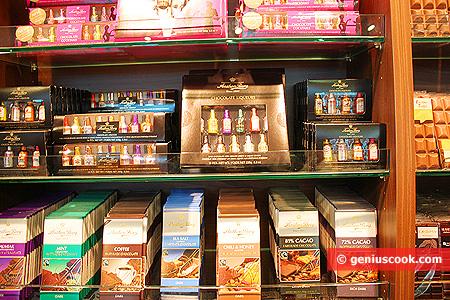 Ещё Ликёры и Шоколад с всевозможными оттенками ароматов