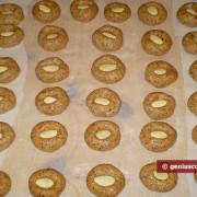 Сырое сформированное печенье