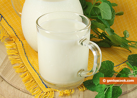 Мятное молоко