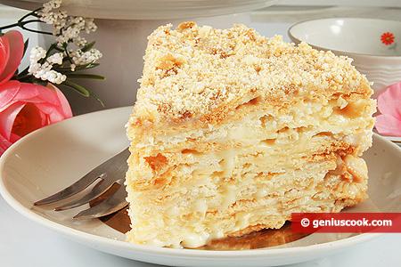 Кусочек Торта Наполеон