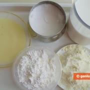 Ингредиенты для молочного мороженого