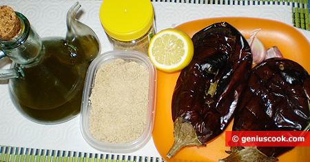 Ингредиенты для Баба гануш