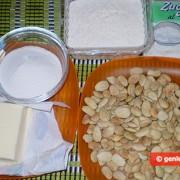 Ингредиенты для Миндальных рогаликов Мезалуна