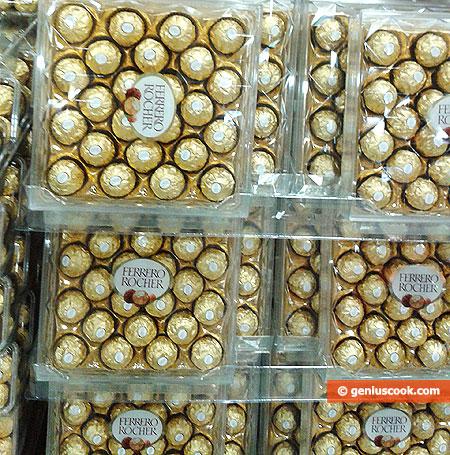 Шоколадные конфеты Ферреро Роше