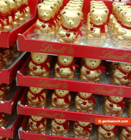 Батальоны шоколадных мишек Линдт