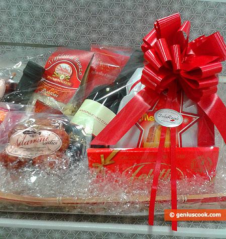 Рождественские продуктовые наборы