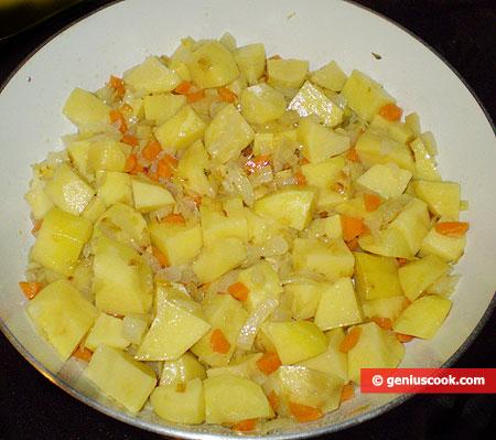 Добавлен картофель