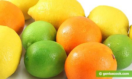 Фрукты богатые витамином С