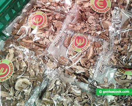 Сушёные грибы