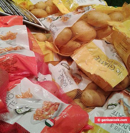 Разные сорта картошки для разных целей