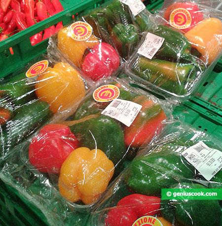 Разные сладкие перцы