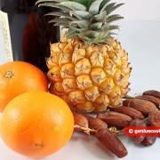 Ингредиенты для фаршированного ананаса