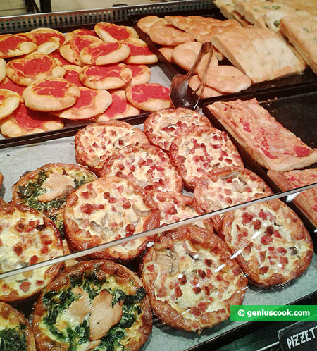 Пиццы и фокаччи
