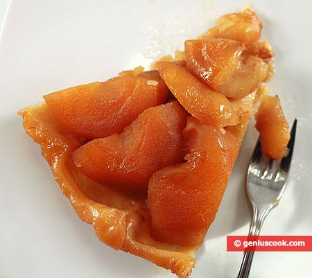 Кусочек пирога Тарт Татен