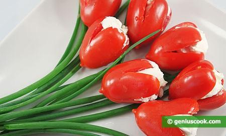диетические салаты из помидоров рецепты