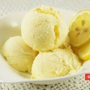 Лимонно-сливочное мороженое