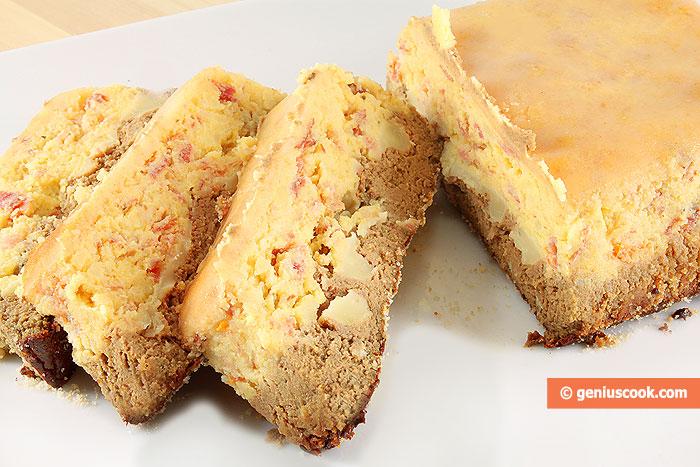 Террин из печени с картофелем и панчеттой