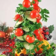 Овощная Рождественская Ёлочка