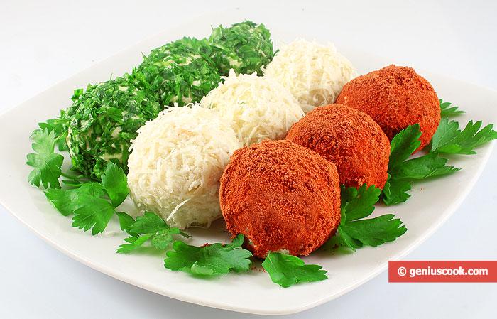 Закуска сырные шарики рецепт пошагово 3