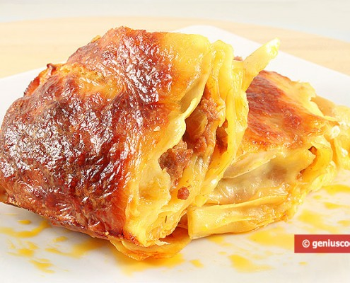 Баулетти с мясом