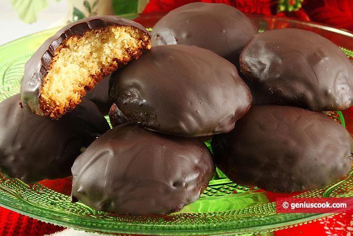 Марципановые Пряники в Шоколаде