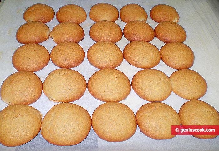 Испечённое печенье