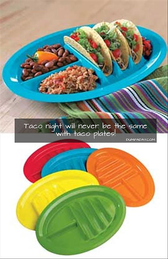 Классные тарелки для тако