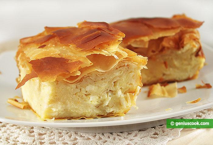 Гибаница Сербский Сырный Пирог