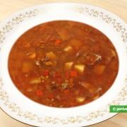 Суп с Грибами и Полбой