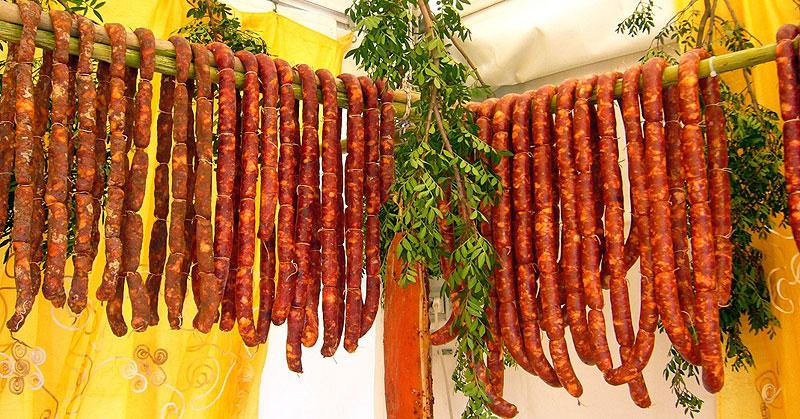 Фестиваль Колбас в Лацио