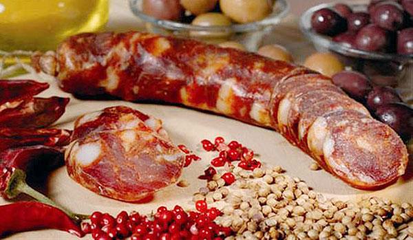 Колбаски с кориандром