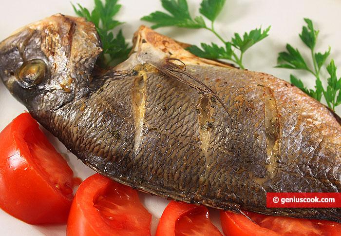 Рыба Дорада Гриль