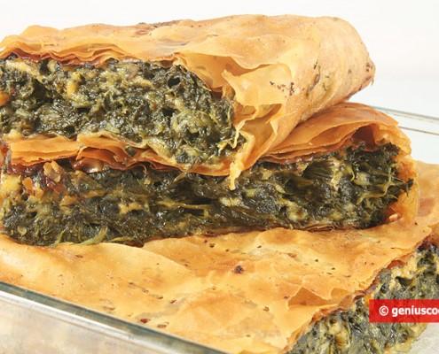 Пирог со Шпинатом и Сыром.