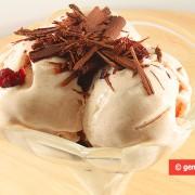Йогуртовое Мороженое с Корицей и Клюквой