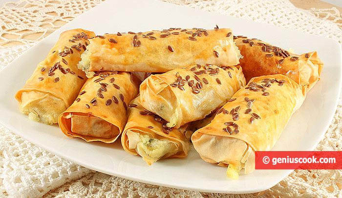 Необычные Пирожки с Картошкой и Моцареллой
