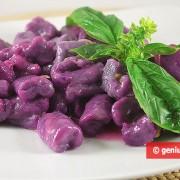 Фиолетовые Ньокки с Лимонным Соусом
