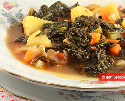 Тосканский суп Риболлита