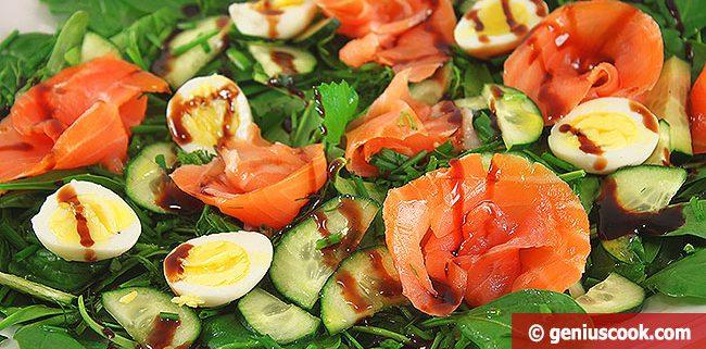 Салат Зеленый Лужок