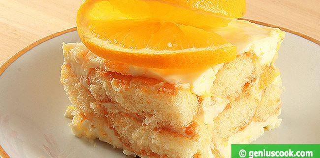Тирамису с Апельсиновым Кремом