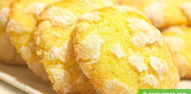 Мраморное Лимонное Печенье