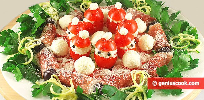Закуска Рождественский Венок
