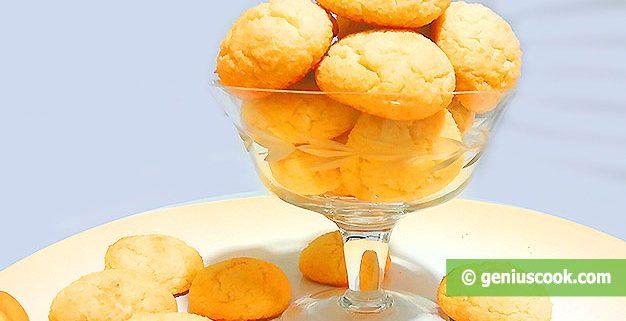 Мягкое Кокосовое Печенье. Без Глютена