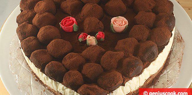Чизкейк с Шоколадными Трюфелями