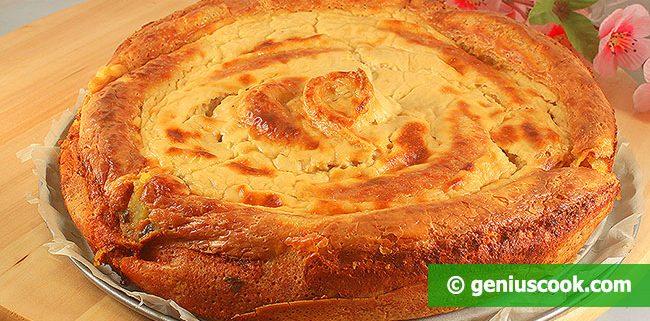 Блинный Пирог с Картошкой