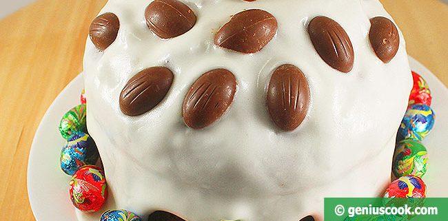 Шоколадный Кулич без Дрожжей