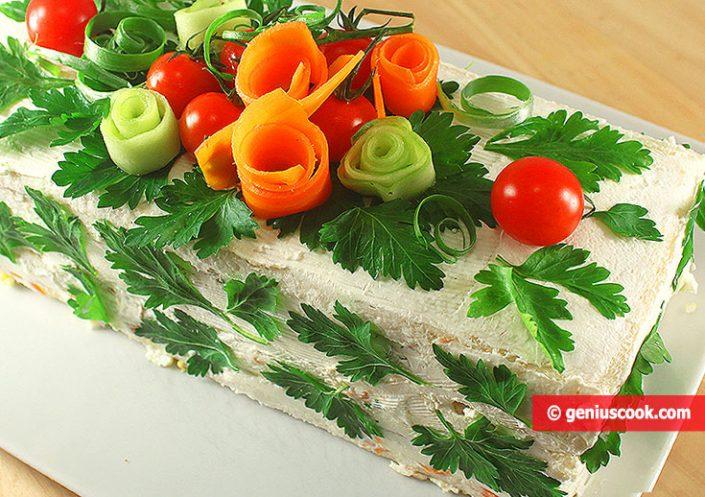 Бутербродный Торт Сэндвич