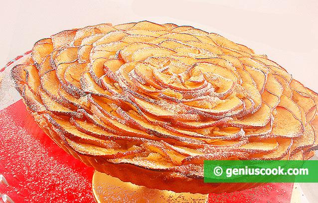 Яблочный Пирог с Франжипаном